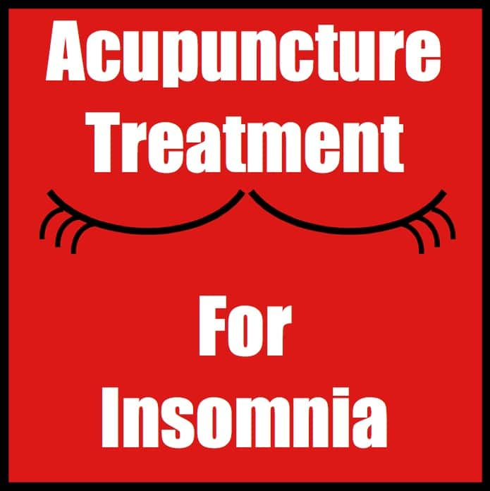 Acupuncture Treatment For Insomnia